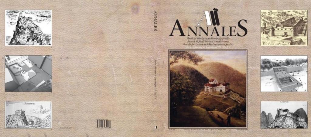 Annales - SHS - 25 - 2015 - 1 - naslovnica_cela_LOWRES