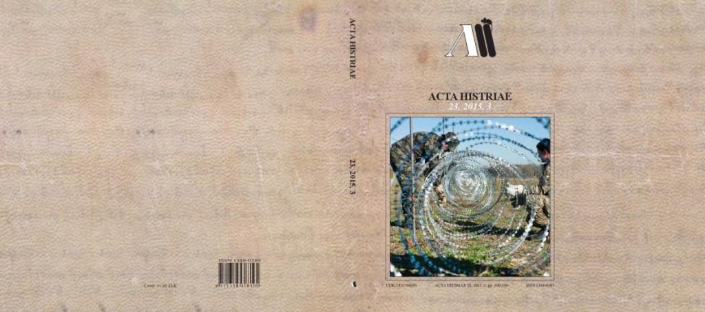 Acta Histriae 2015-3 naslovnica_cela