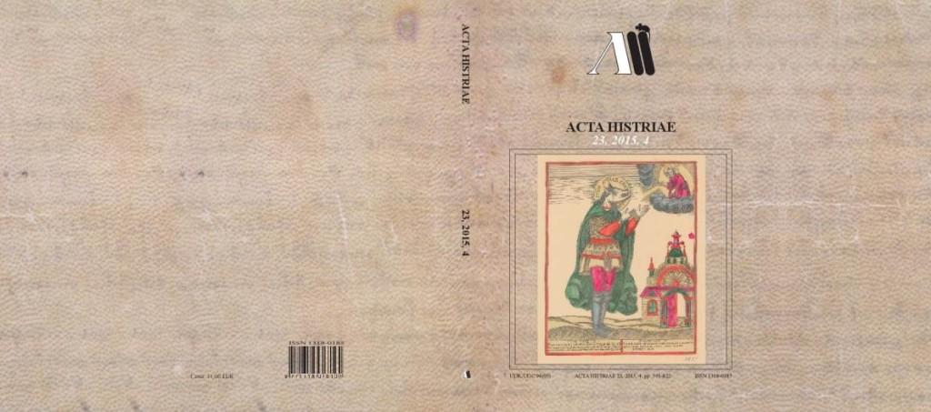 Acta Histriae 2015-4 naslovnica_cela