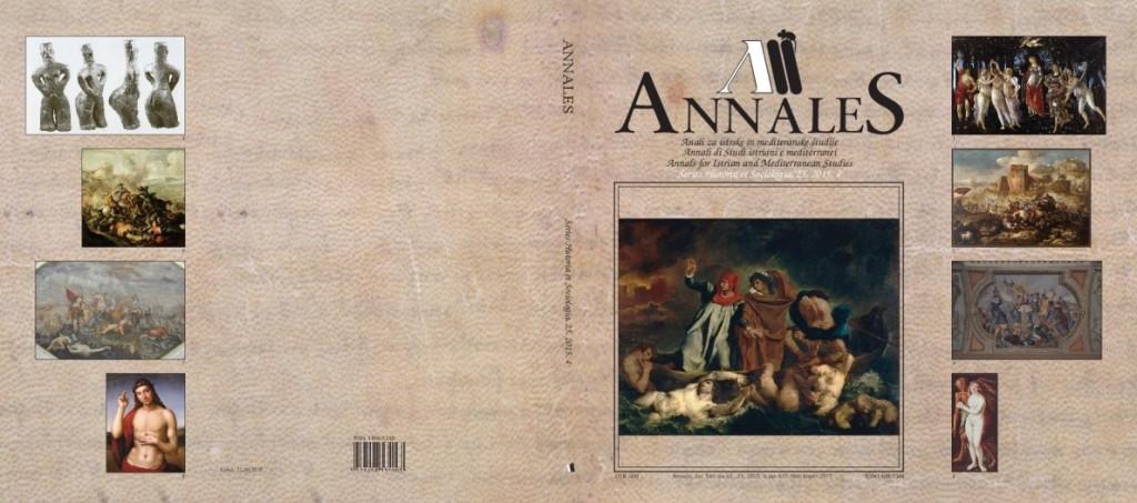 Annales - SHS - 25 - 2015 -4  - naslovnica_cela