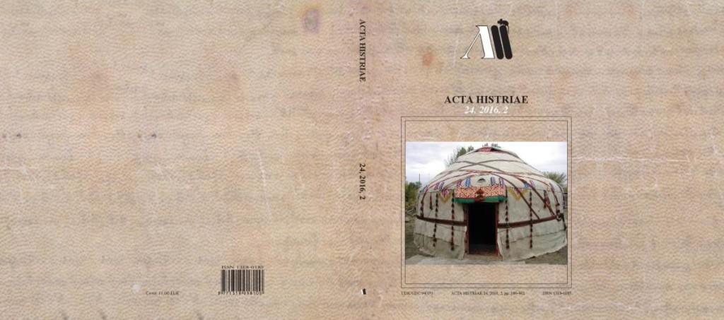 Acta Histriae 2, 24, 2016 - naslovnica_cela